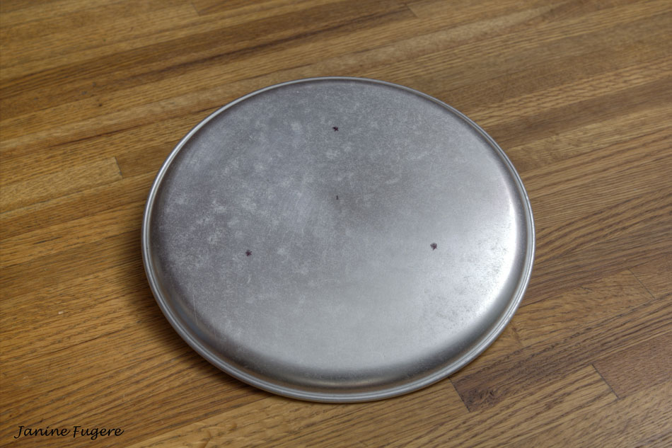 Pizza-Pan-Reflector-Marked-for-Drilling