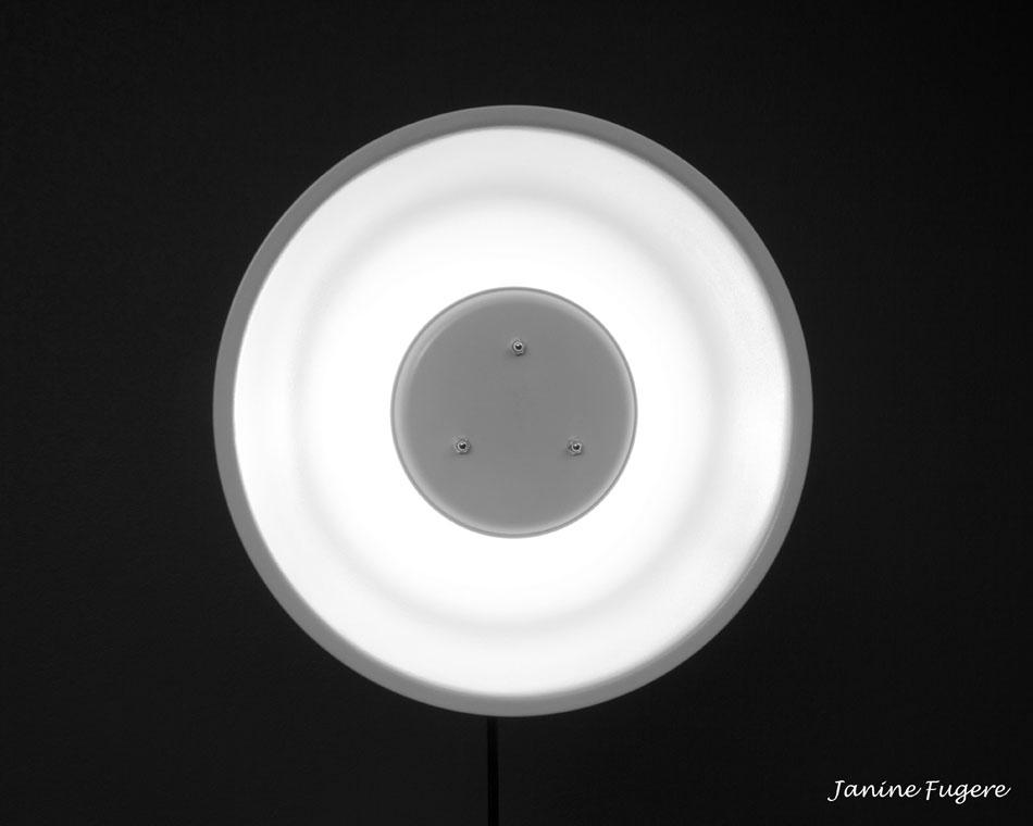 My DIY Beauty Dish with Canon 430EX II Speedlight