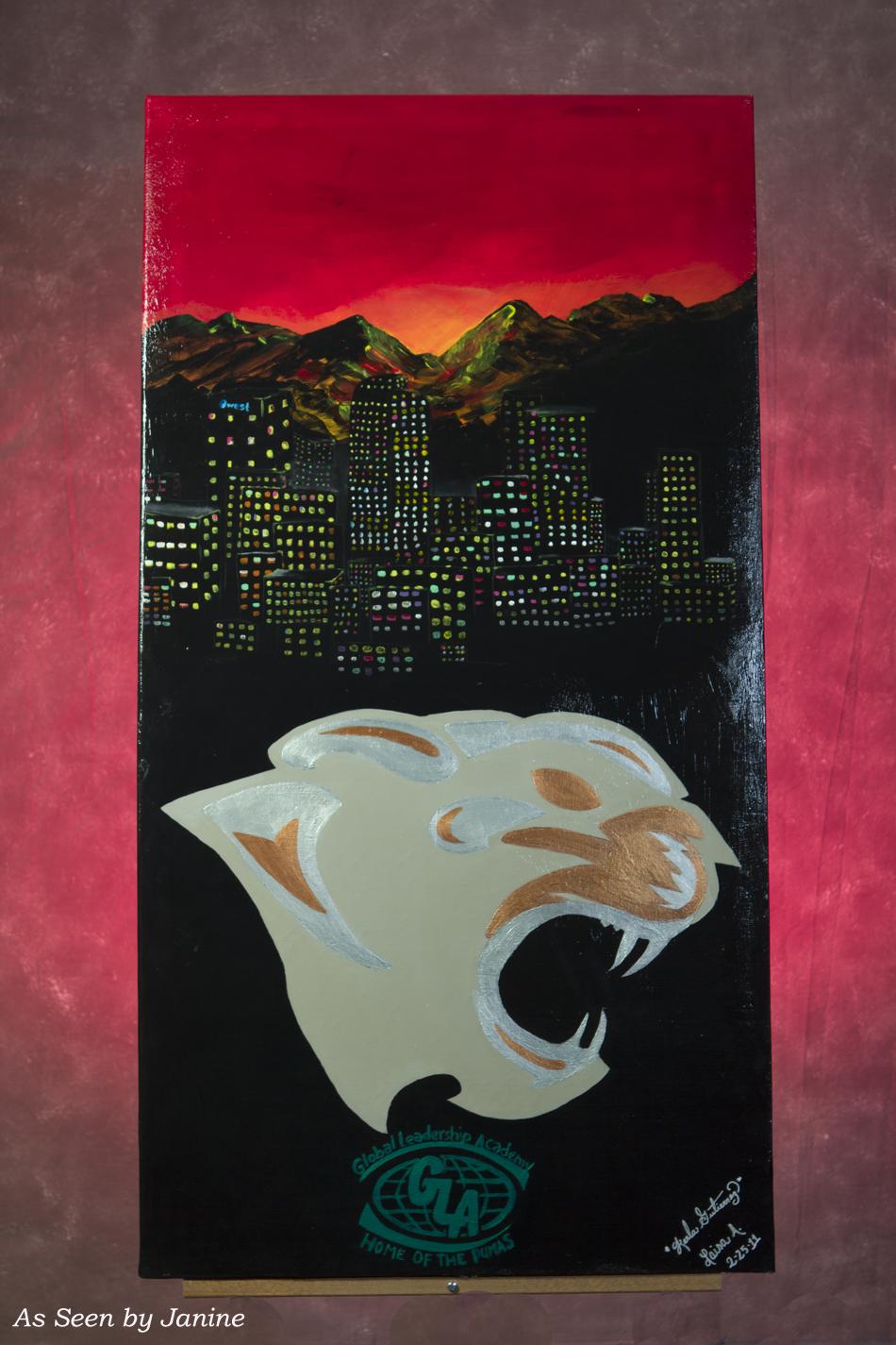 GLA Pumas & Denver, CO Skyline