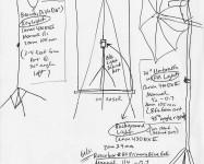 Diagram of Art-Documentation Lighting Setup