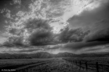 Spring Storm Clouds Colorado Style