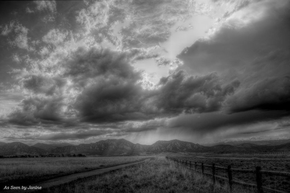 Spring Storm Clouds Colorado Style