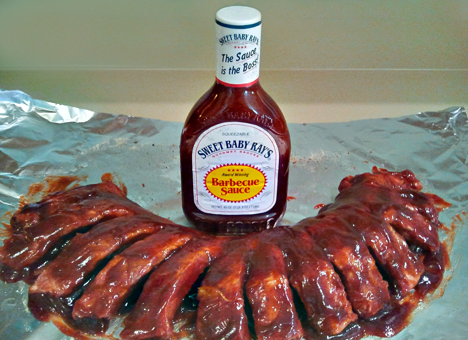 Janine's Sweet Baby Rays Baby Back Ribs