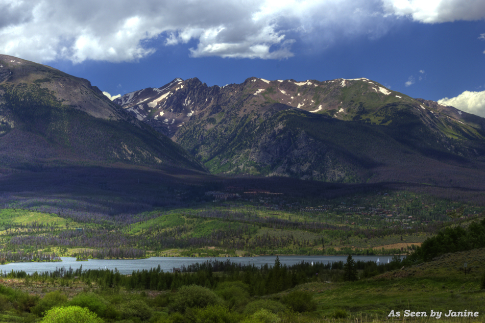 Dillon Reservoir & the Ten Mile Range