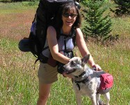 Backpacking with Kiah in James Peak Wilderness