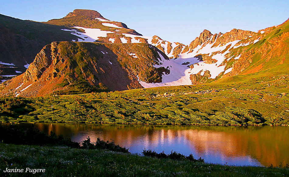 Heart Lake, Haystack Mountain & James Peak