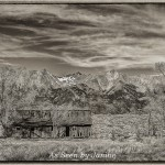 Mount Blanca and Old Barn - 4th Highest Peak in the Rocky Mountains