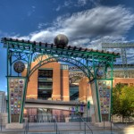 Evolution of the Ball - Gateway to Coors Field Created by Artist Lonnie Hanzon