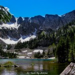Upper Forest Lake and Continental Divide in Late Spring