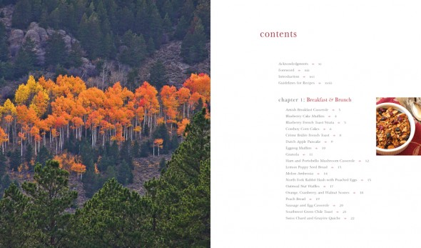Tasting Colorado Aspen Full Page Opposite Table of Contents