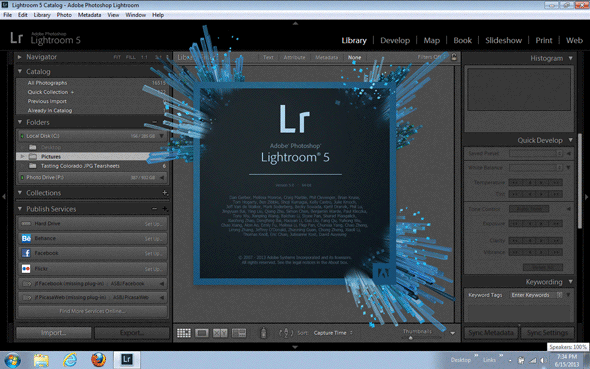 Lightroom 5 Up and Running