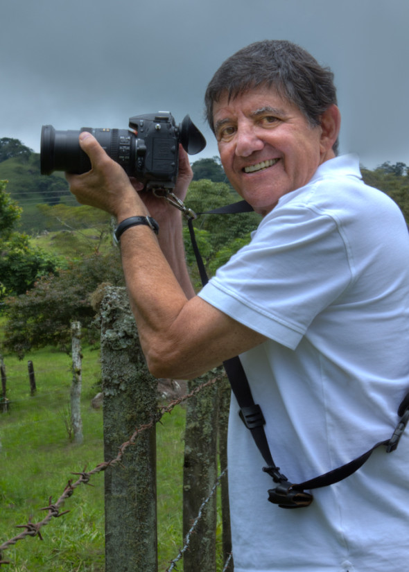 My Host and Photo Tour Guide, Ron Elkind