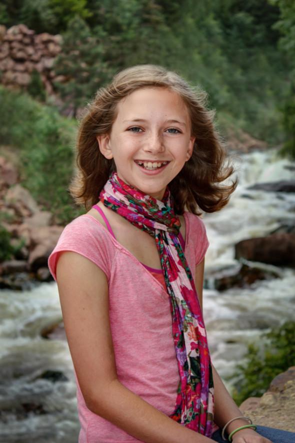 Anna Portrait Eldorado Canyon State Park