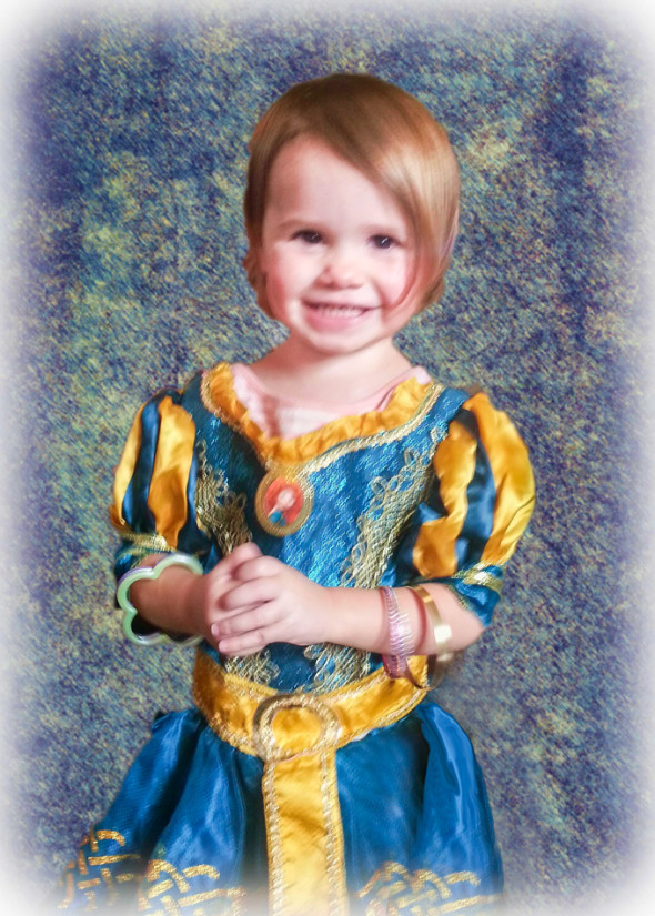 Bella as Ariel Final Image
