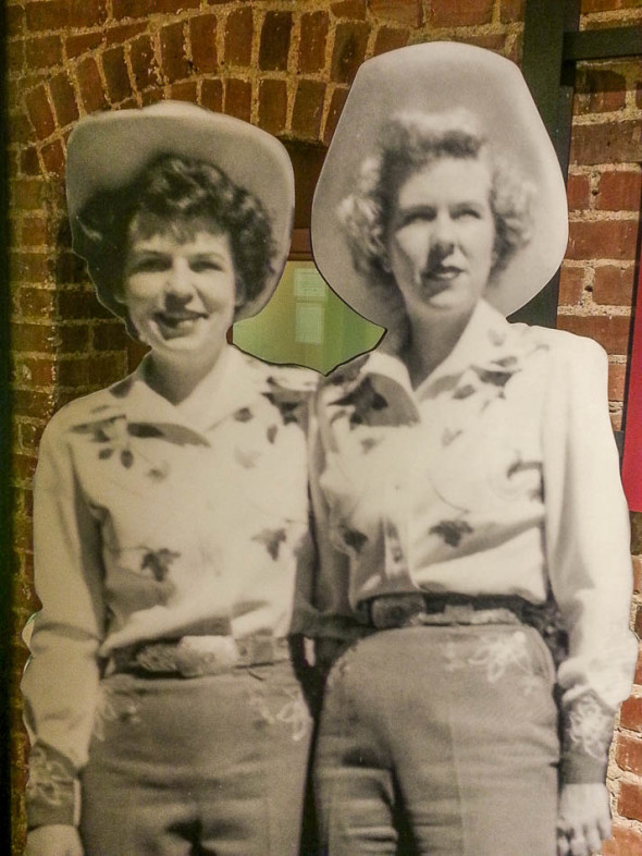 Colorado Cowgirl Capitol Guides in the Mid-1950's