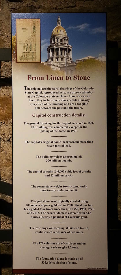 From Linen to Stone Capitol Construction Details