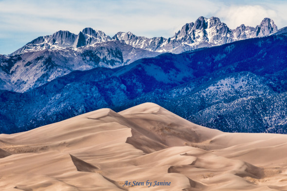 Great Sand Dunes HDR Merge to 32 Bit Final Color Image