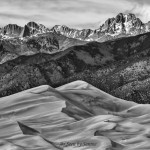Great Sand Dunes HDR Merge to 32 Bit Topaz Brilliant Warm B&W