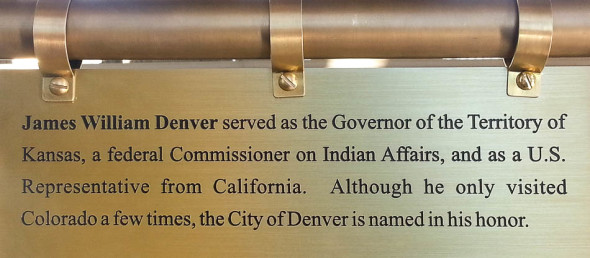 Origin of Denver's Name