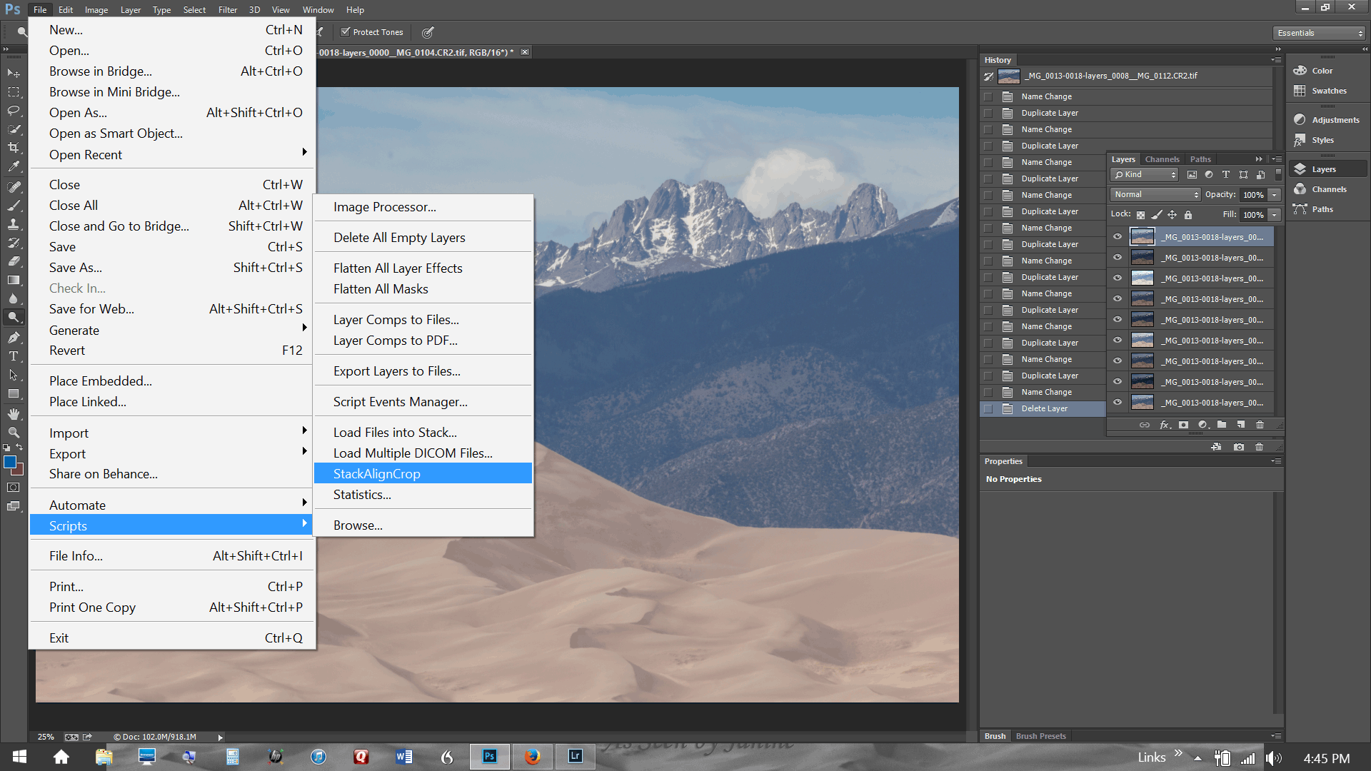How to create HDR images using Photoshop and Lightroom ...