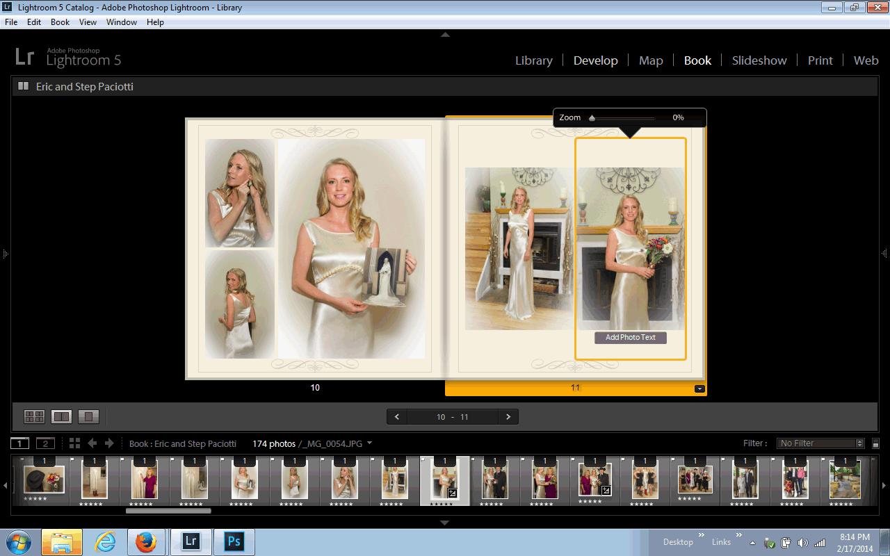 Create A Stunning Wedding Al Blurb Book Using Lightroom S